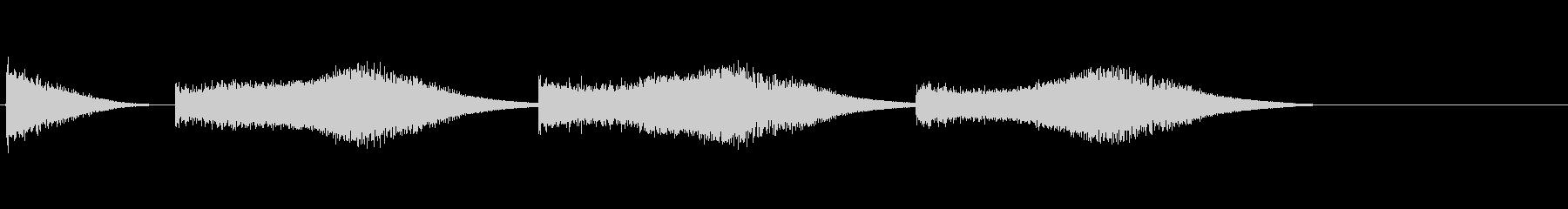 レーザーブラスト、ロング2の未再生の波形