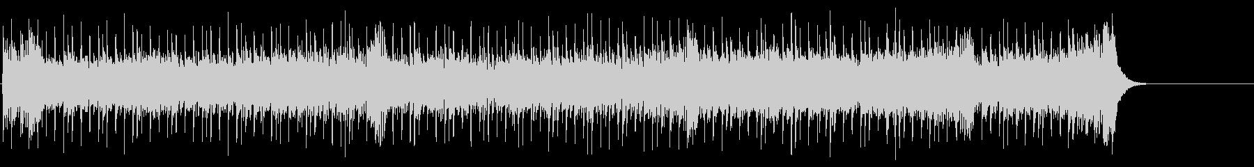 軽快なテクノ・ポップ(A~B~サビ)の未再生の波形