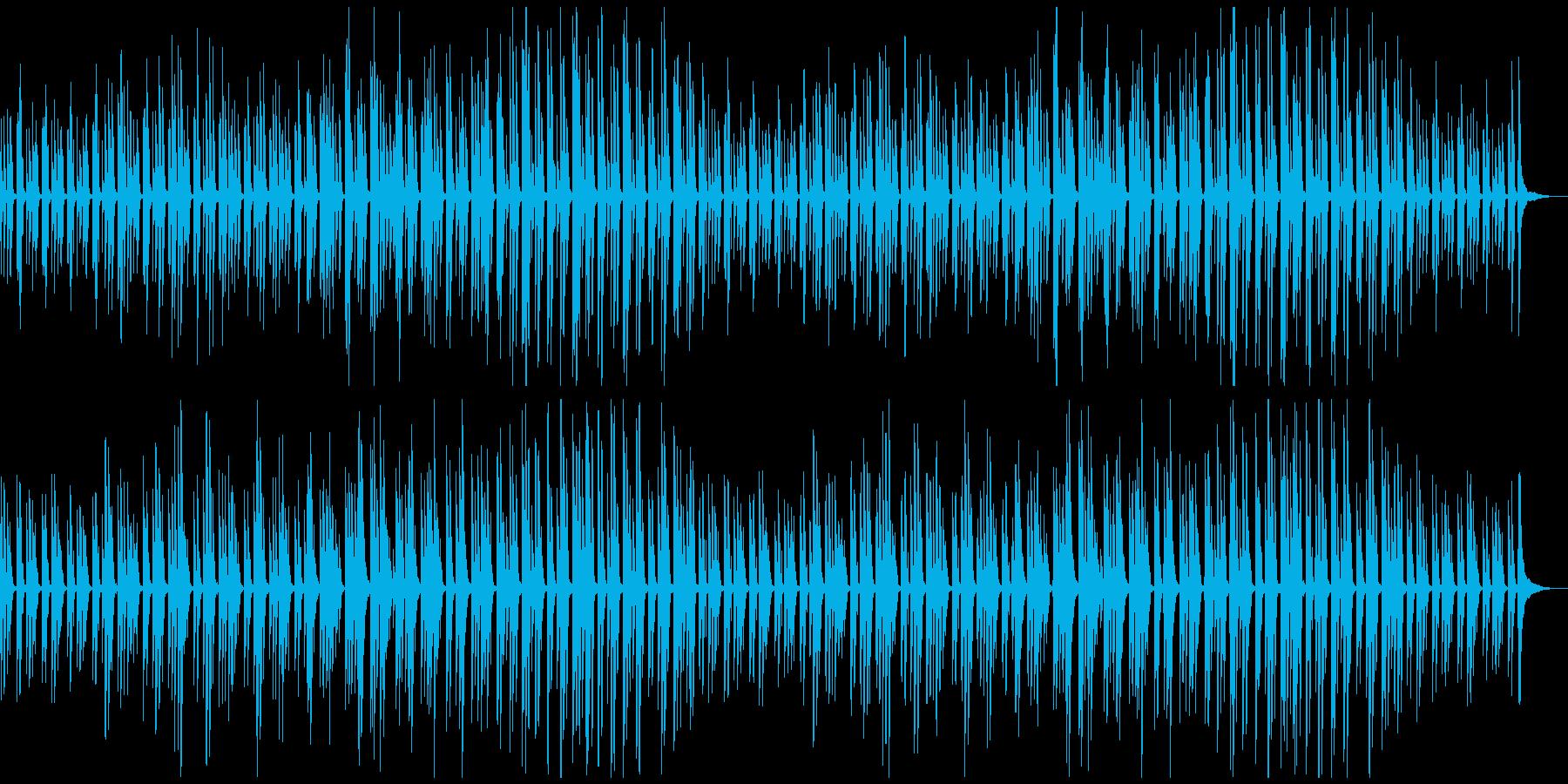 可愛くほんわか癒される日常のBGMの再生済みの波形