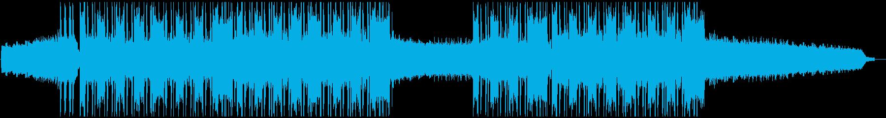 スタイリッシュなエレクトロニックヒップホの再生済みの波形