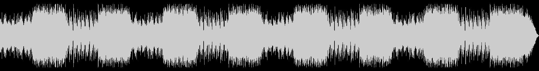 ゆったりとした美しいピアノテクスチャーの未再生の波形