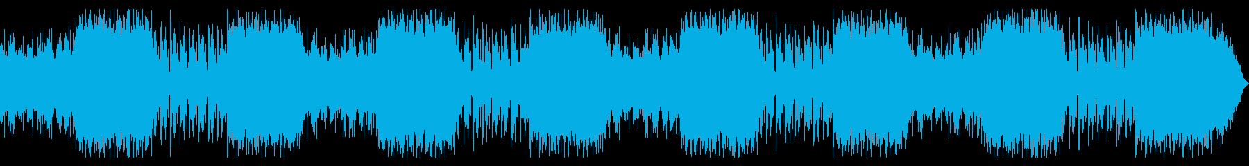 ゆったりとした美しいピアノテクスチャーの再生済みの波形