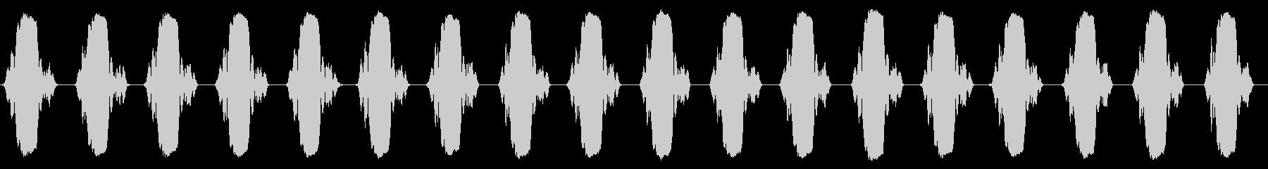 携帯電話 バイブレーション02-09(毛の未再生の波形