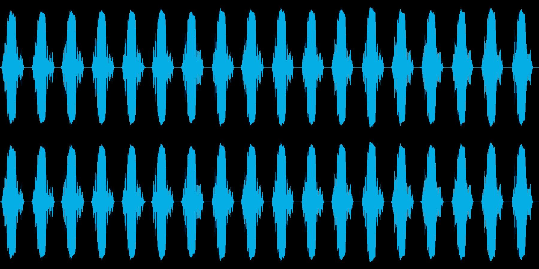 携帯電話 バイブレーション02-09(毛の再生済みの波形
