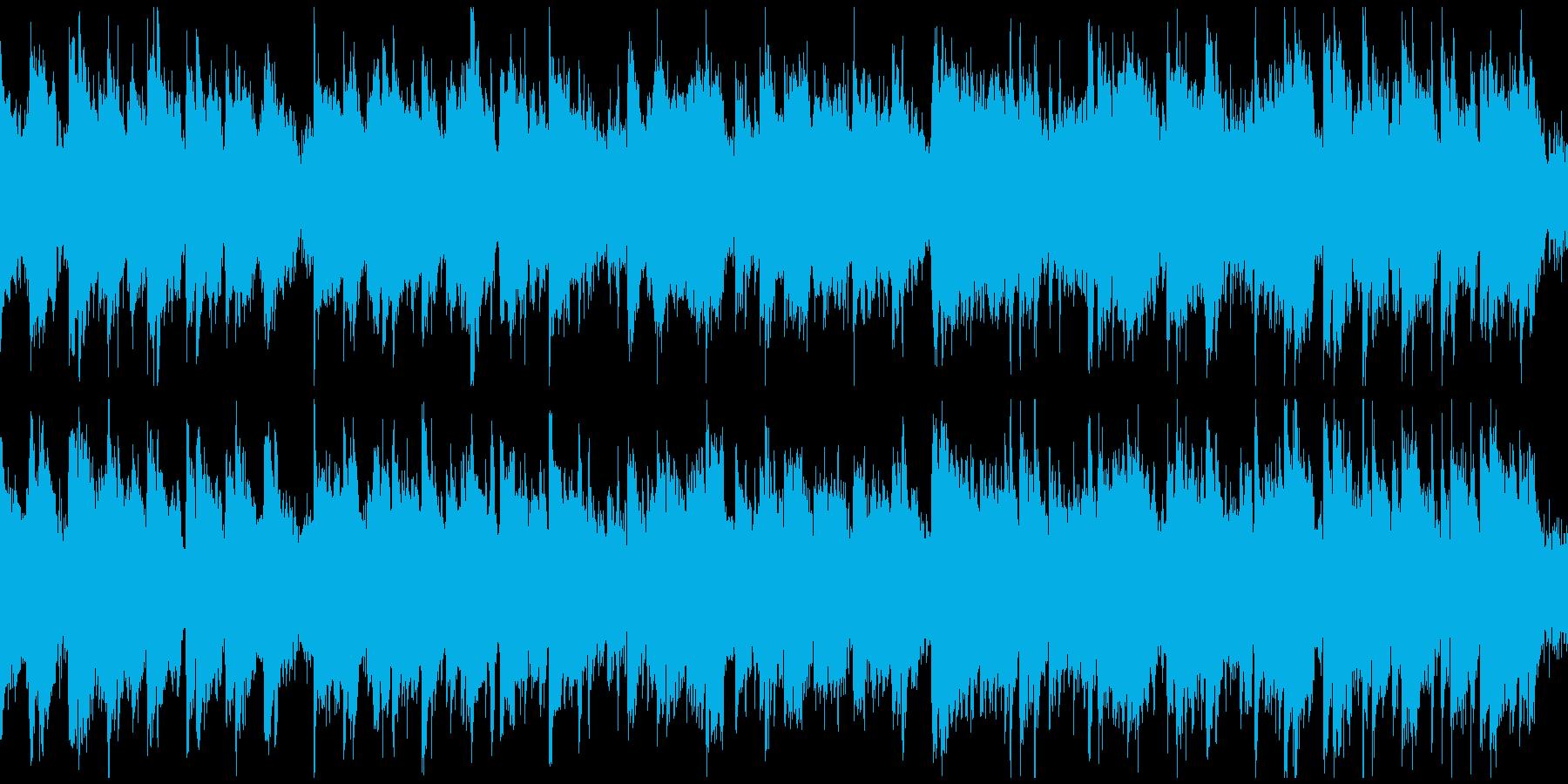 和風曲、決戦前、静かな決意 ※ループ版の再生済みの波形