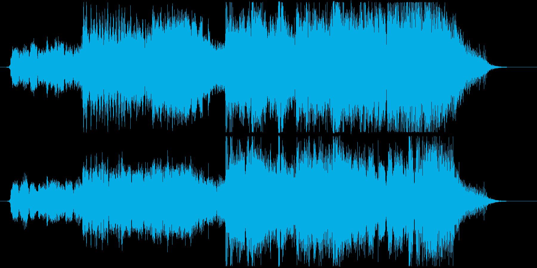 CM 妖怪や怪獣のレトロミュージックの再生済みの波形