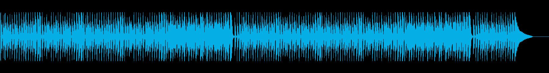 ゆるくてコミカルなウクレレポップの再生済みの波形