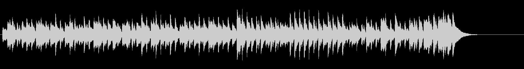 グラーツのワルツ第4番(シューベルト)の未再生の波形