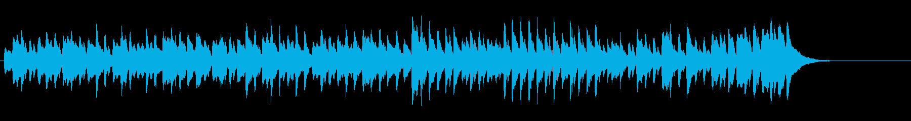 グラーツのワルツ第4番(シューベルト)の再生済みの波形