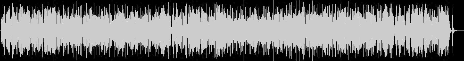 可愛く楽しげなシンセサイザーサウンドの未再生の波形