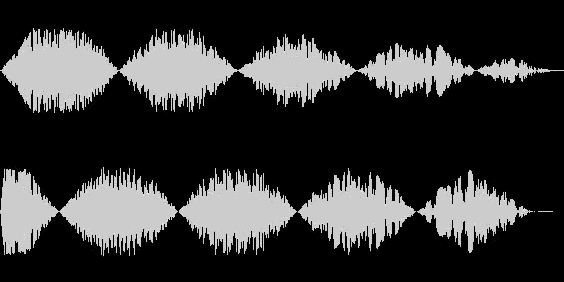 電動スイーパー9の未再生の波形