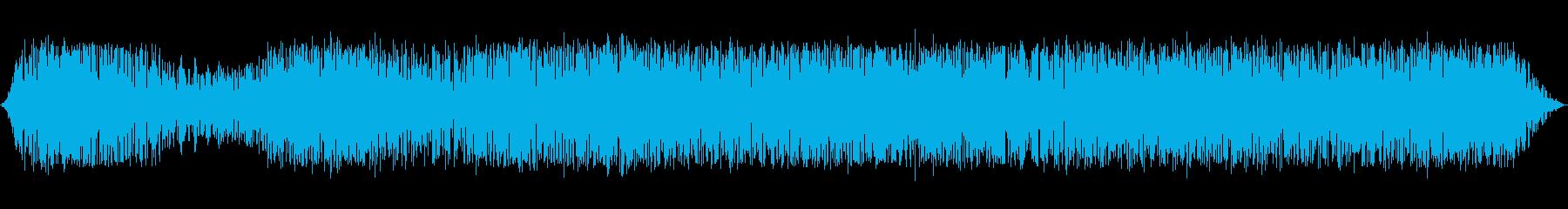 深い混乱の再生済みの波形
