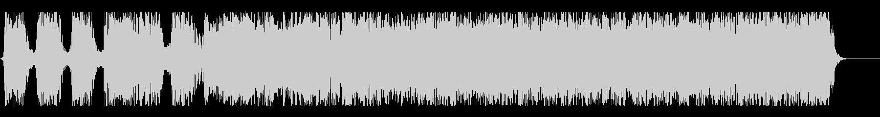 ハードコア風ショートサウンド#02の未再生の波形