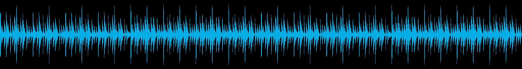 【ループ仕様】謎解きゲームの推理中の音の再生済みの波形