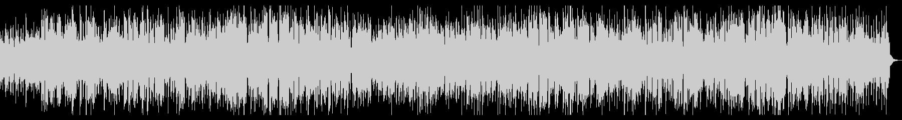 トランペットの明るいジャズバラードの未再生の波形