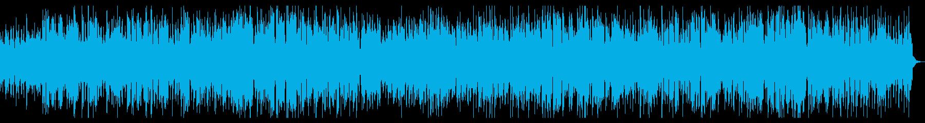 トランペットの明るいジャズバラードの再生済みの波形