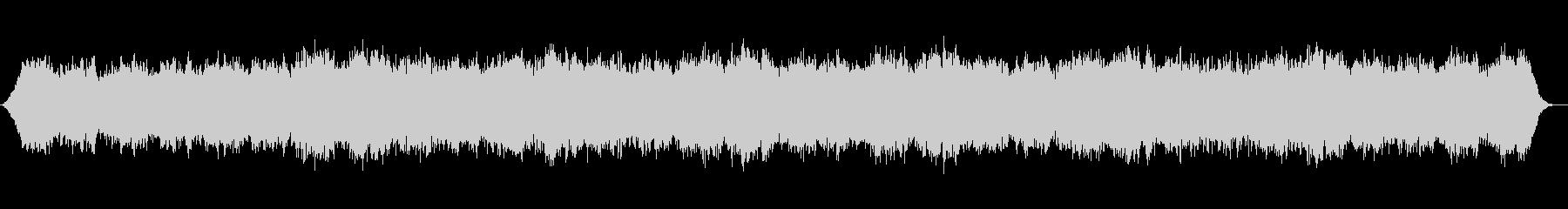 神秘的なシンセサイザーのサウンドの未再生の波形