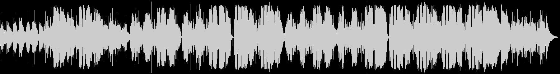 プラットホームの未再生の波形