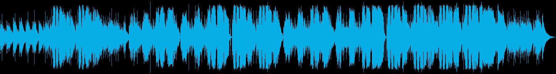 プラットホームの再生済みの波形