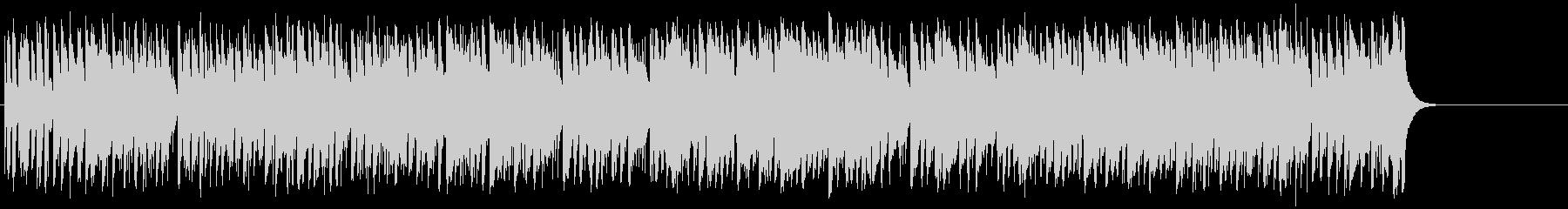 爽快なフュージョン(イントロ~A~サ…)の未再生の波形
