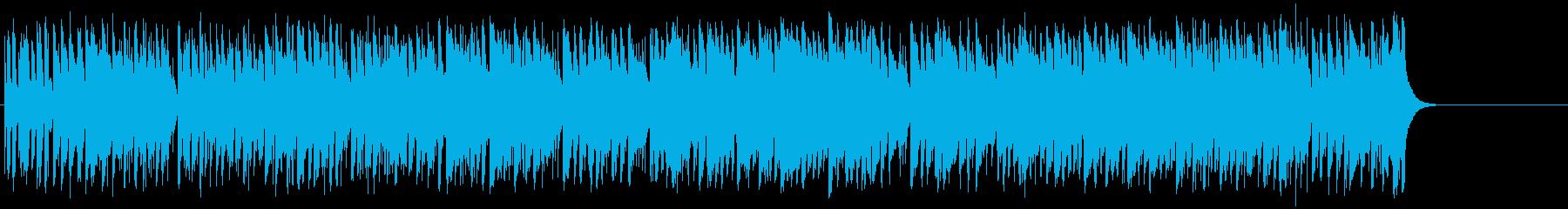 爽快なフュージョン(イントロ~A~サ…)の再生済みの波形