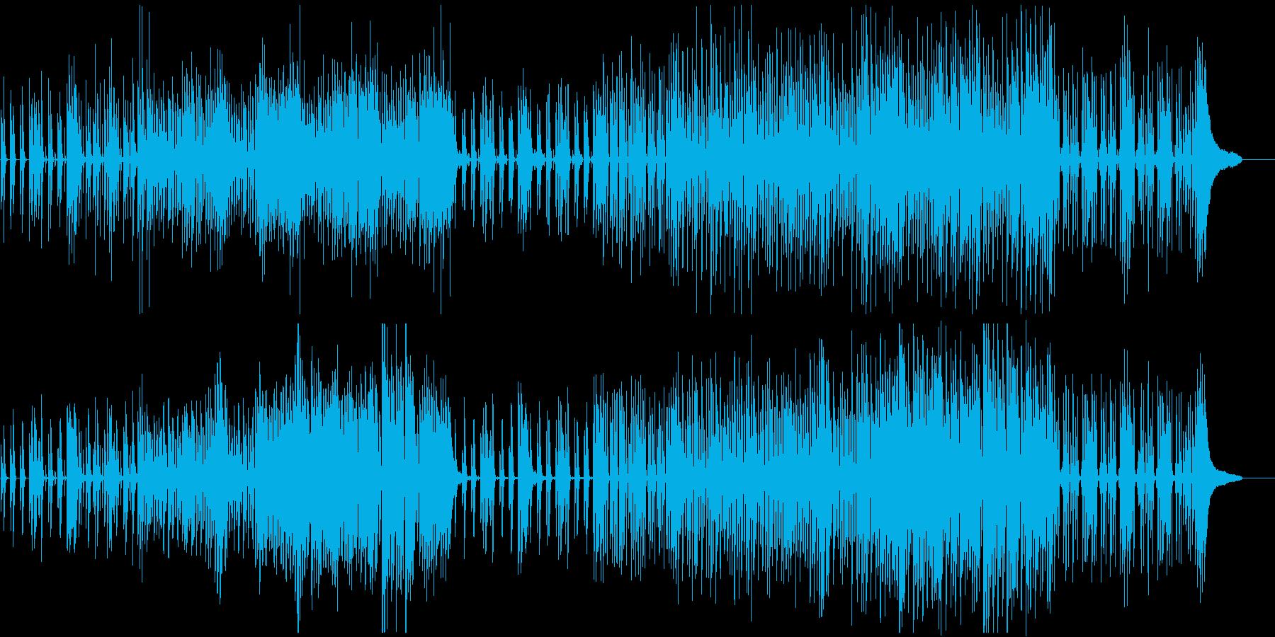 かわいい おまぬけ感 コミカル ポップの再生済みの波形