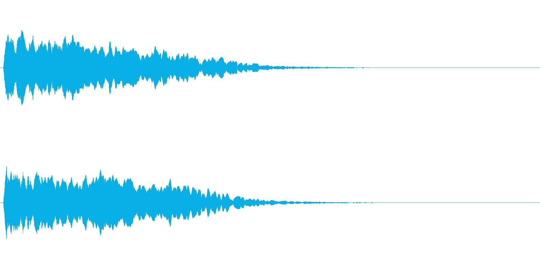 トレーラー用シネマチックアラーム・ピン3の再生済みの波形