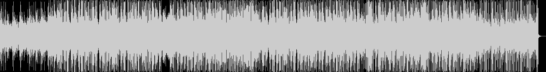 優しいゆったりとしたHiphopBeatの未再生の波形