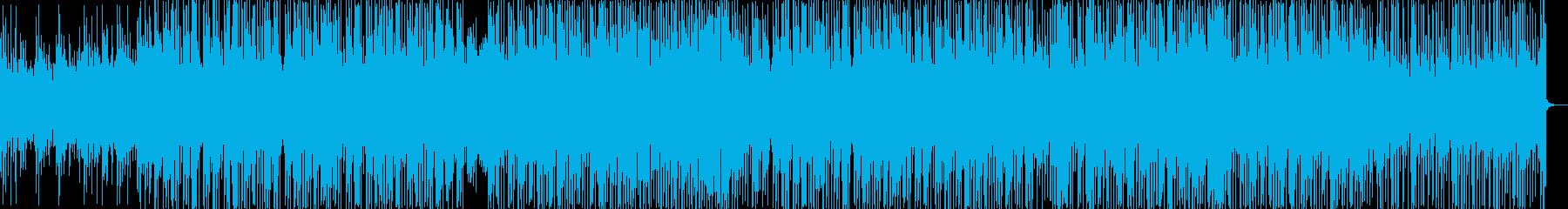 優しいゆったりとしたHiphopBeatの再生済みの波形