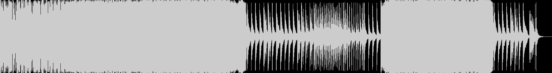 爽やかキラキラポップスなオープニング曲の未再生の波形