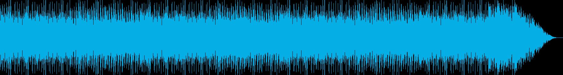 夏&バカンスの海を連想させるBGMの再生済みの波形