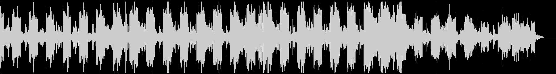フューチャーベース風のゲーム用BGMの未再生の波形
