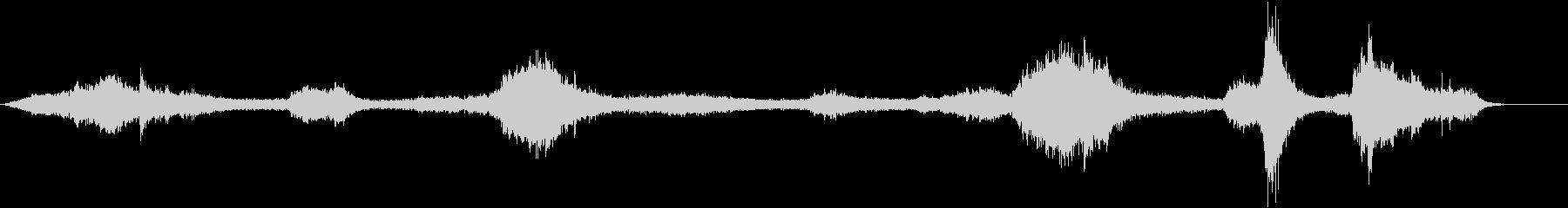 ジープワゴニア:リバーブタイヤスキ...の未再生の波形