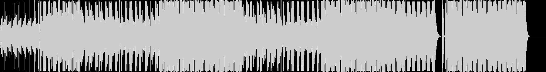 ヒップホップ/重低音/マフィア/808の未再生の波形