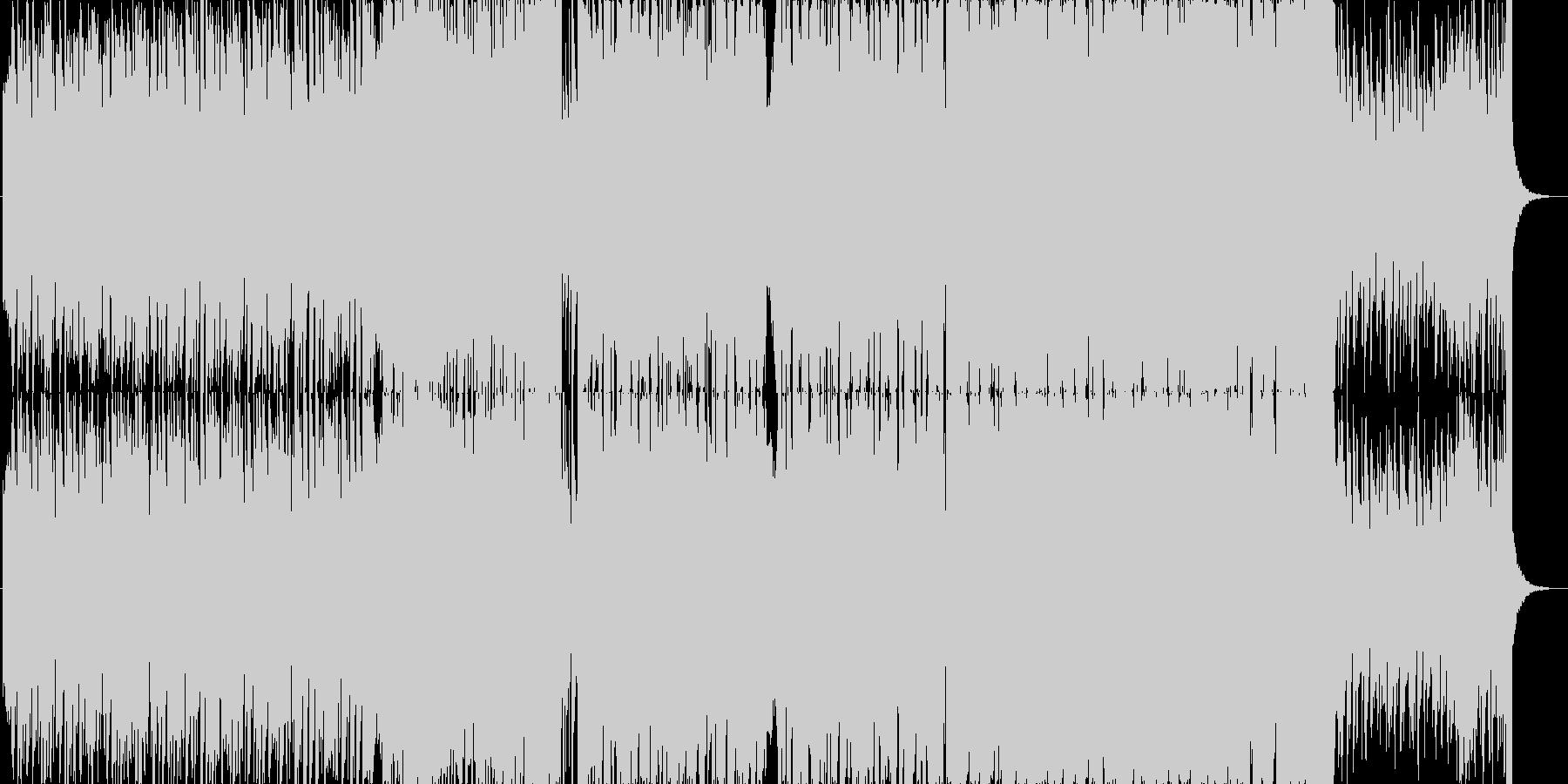 キラキラわくわくかわいいエレクトロBの未再生の波形