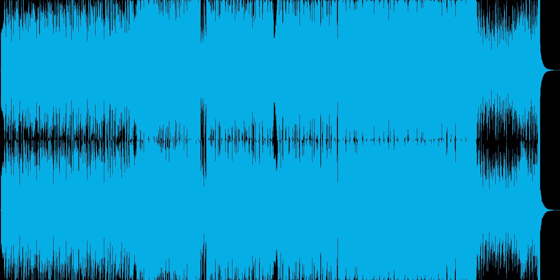 キラキラわくわくかわいいエレクトロBの再生済みの波形