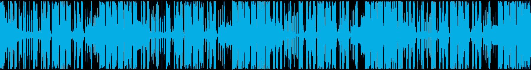 【ループ対応s】明るい楽しいポップEDMの再生済みの波形