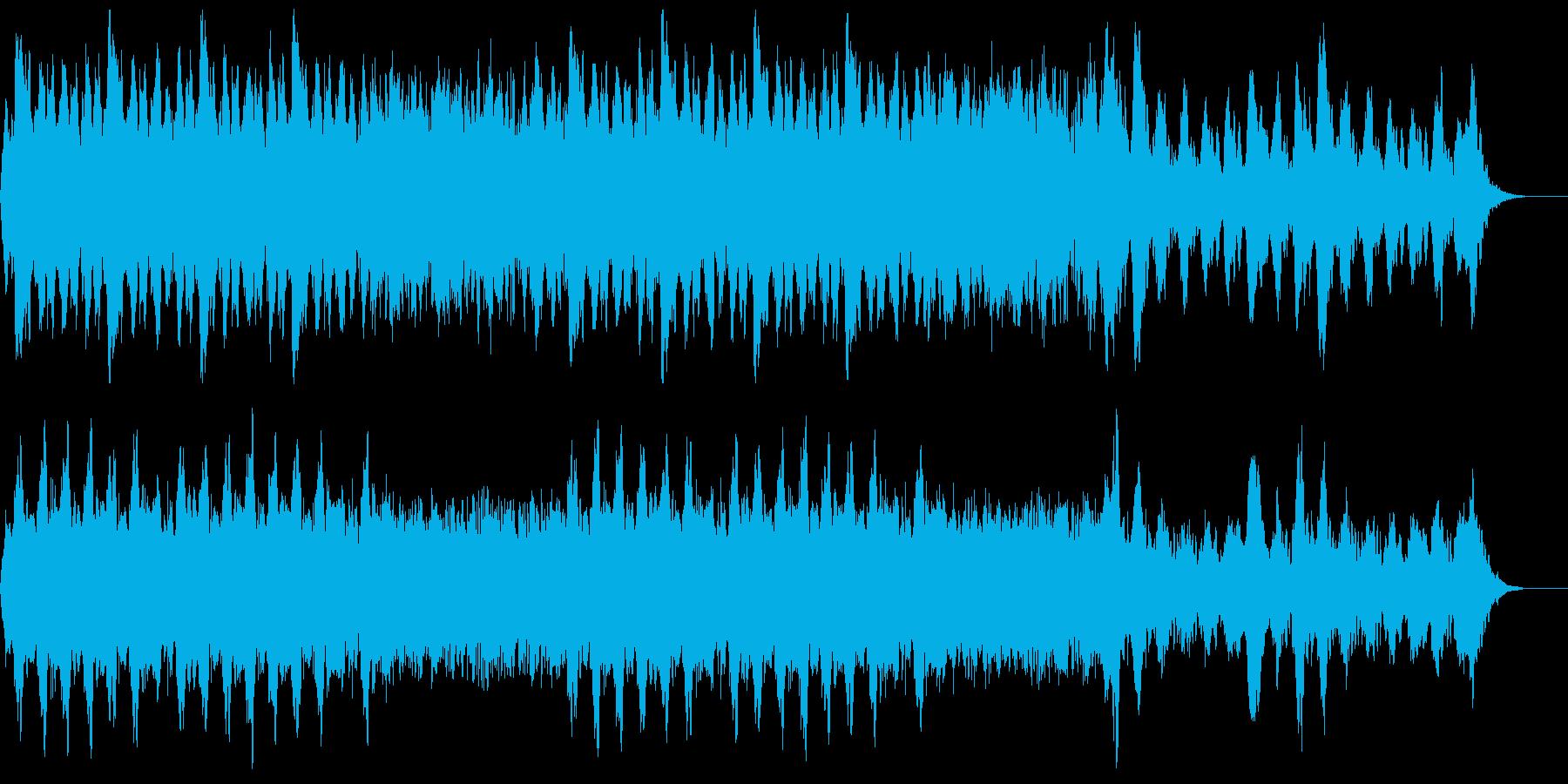 得体のしれない怪しいホラーBGMの再生済みの波形
