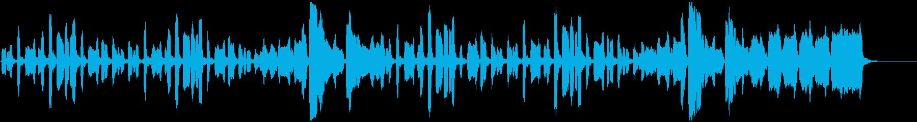 リコーダーのちょっぴり切ない曲の再生済みの波形
