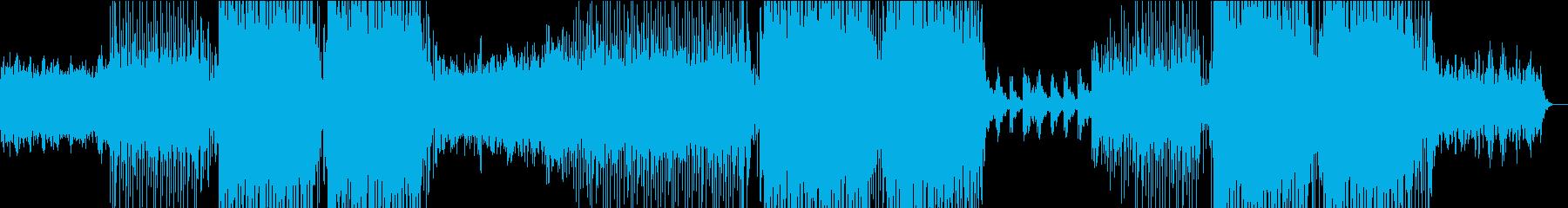 トロピカルメロディハウス~ほろ酔い気分~の再生済みの波形