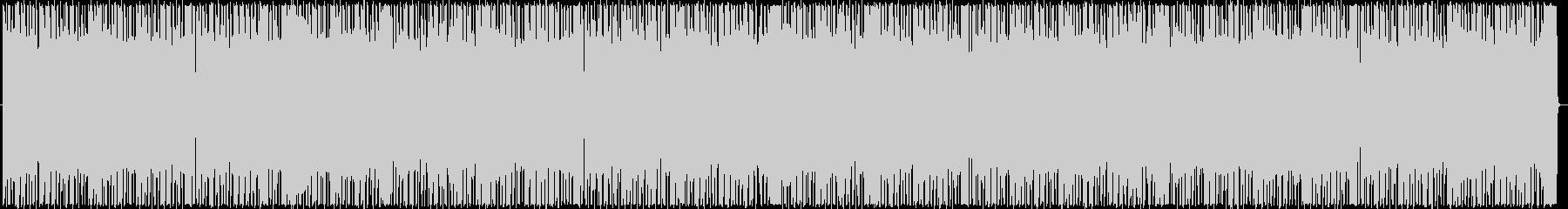 ギターアルペジオのお洒落なミドルテンポの未再生の波形