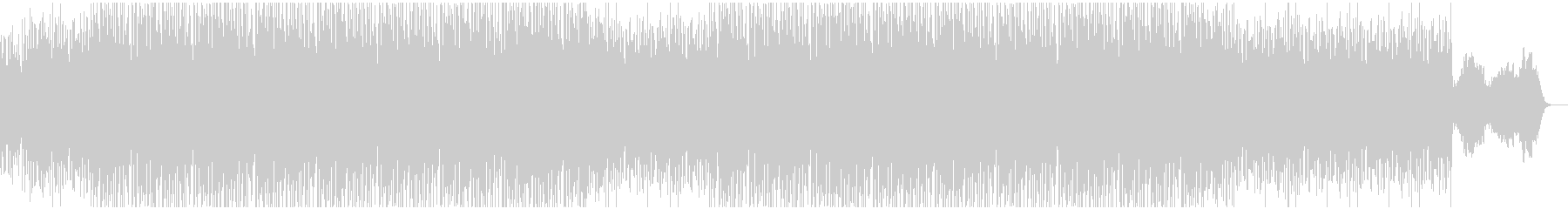 ベースフレーズが印象的/静かなエレクトロの未再生の波形