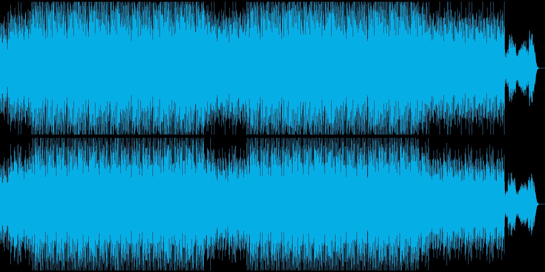 ベースフレーズが印象的/静かなエレクトロの再生済みの波形