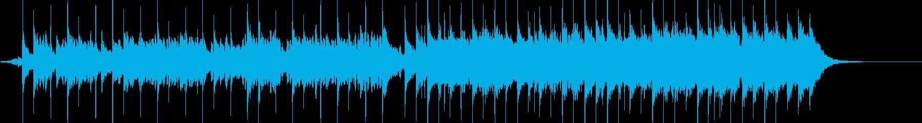 愛らしいバラードの曲の再生済みの波形
