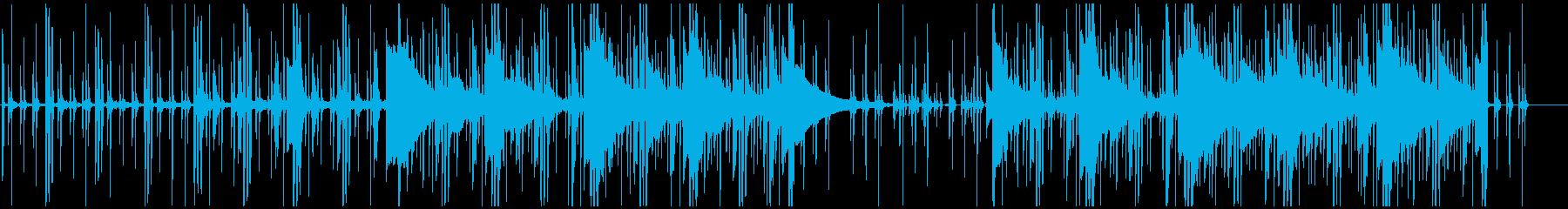 コミカルな日常曲。ポップス。の再生済みの波形