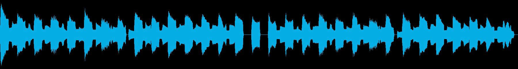 ピタゴラスイッチ風リコーダーカルテットの再生済みの波形