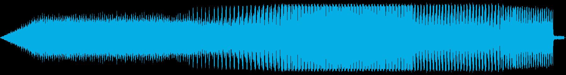 じーじーじー(クマ蝉)の再生済みの波形