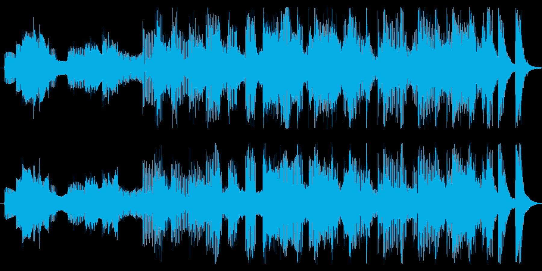 15秒CMサイズの2 家庭用品のCMなどの再生済みの波形