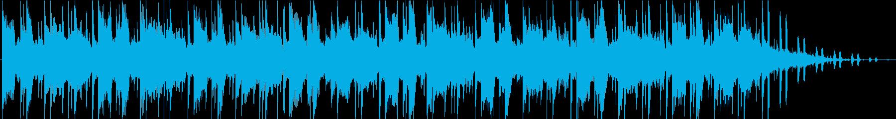 シーケンス 未定ベース03の再生済みの波形