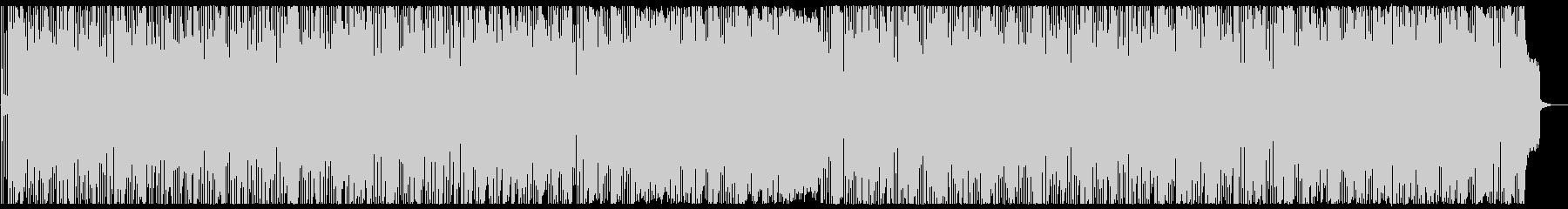 ピアノがメロディーのボサノバ風な曲の未再生の波形
